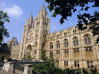 The Natural History Museum, South Kensington, London, England, UK-Mark Mawson-Photographic Print