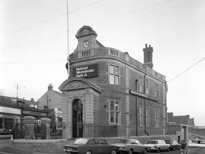 The Natwest Bank, Mexborough, South Yorkshire, 1971-Michael Walters-Photographic Print