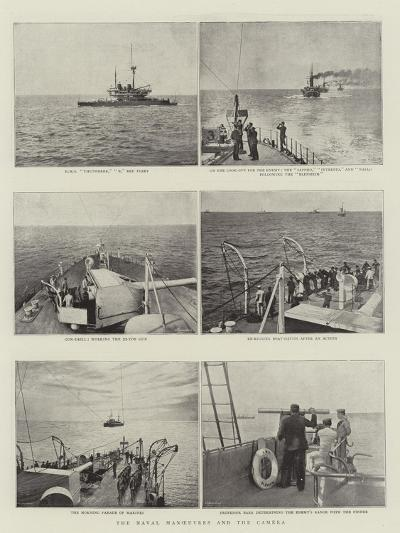 The Naval Manoeuvres and the Camera--Giclee Print