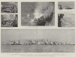 The Naval Manoeuvres of 1893, Incidents During the Operation