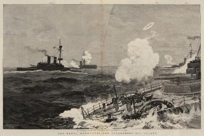 The Naval Manoeuvres, the Engagement Off Ushant-Joseph Nash-Giclee Print