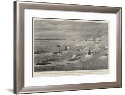 The Naval Manoeuvres, the Great Battle Off Belfast-Joseph Nash-Framed Giclee Print
