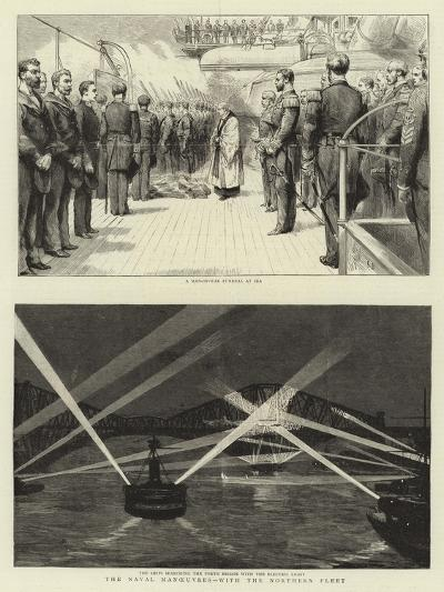 The Naval Manoeuvres, with the Northern Fleet--Giclee Print