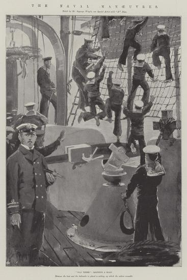 The Naval Manoeuvres-Henry Charles Seppings Wright-Giclee Print