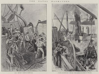 The Naval Manoeuvres--Giclee Print