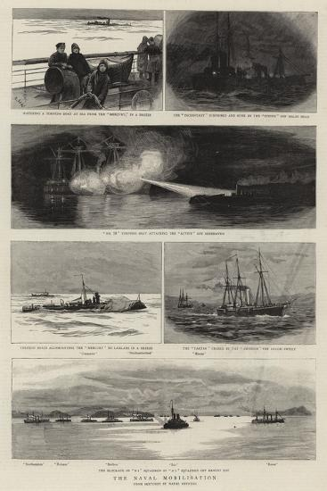 The Naval Mobilisation--Giclee Print