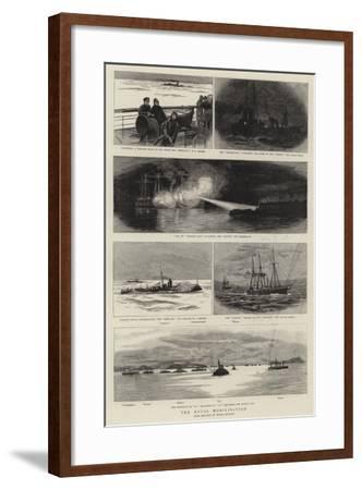 The Naval Mobilisation--Framed Giclee Print