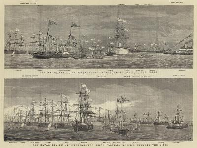 The Naval Review at Spithead-William Edward Atkins-Giclee Print