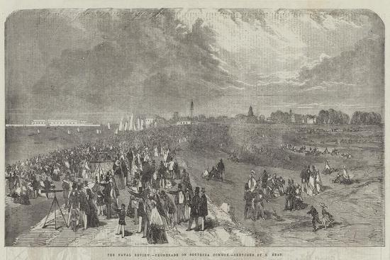 The Naval Review, Promenade on Southsea Common-Samuel Read-Giclee Print