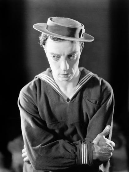 The Navigator, Buster Keaton, 1924--Photo