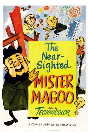 The Nearsighted Mister Magoo--Art Print
