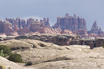 The Needles Rock Formation-DLILLC-Photographic Print