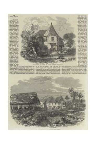 The Negro Revolt in Jamaica--Giclee Print