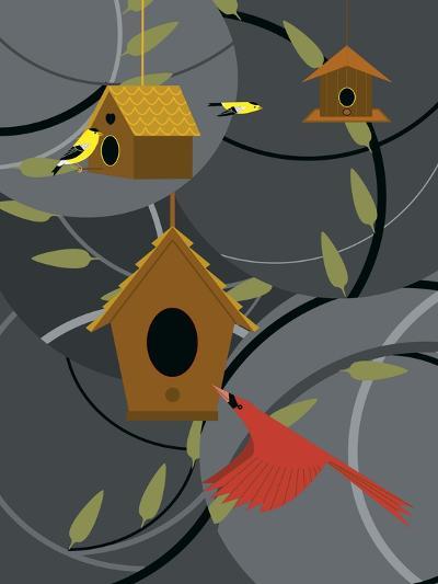 The Neighborhood-Marie Sansone-Giclee Print
