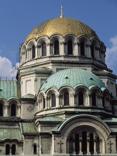 The Neo-Byzantine St Alexander Nevsky Cathedral, 1882-1912-Aleksandr Pomerantsev-Giclee Print