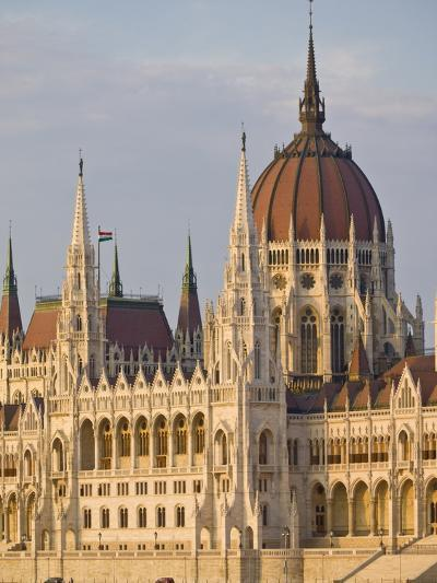 The Neo-Gothic Hungarian Parliament Building, Designed By Imre Steindl, Budapest, Hungary-Neale Clarke-Photographic Print