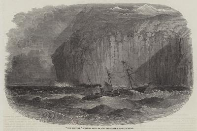 The Neptune Steamer Hove to North West Off Flekke Fiord, Norway--Giclee Print