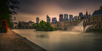 The Netherlands, Den Haag, Parliament, Politics, 'Binnenhof'-Ingo Boelter-Photographic Print