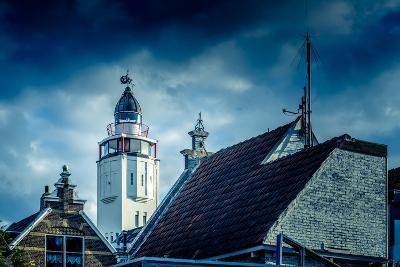 The Netherlands, Frisia, Harlingen, Harbour, Lighthouse-Ingo Boelter-Photographic Print