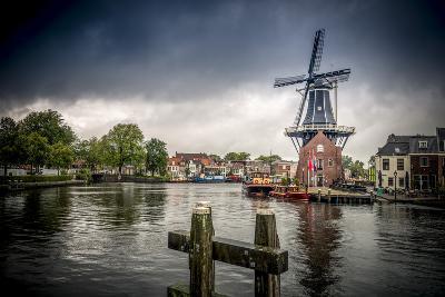 The Netherlands, Haarlem, Mill, Windmill, De Adriaan-Ingo Boelter-Photographic Print
