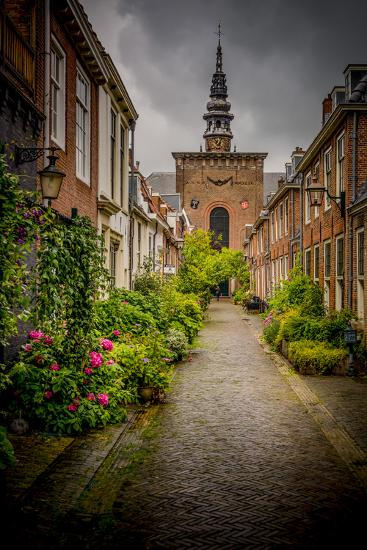 The Netherlands, Haarlem, Street, Lane-Ingo Boelter-Photographic Print