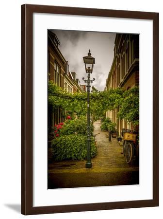 The Netherlands, Haarlem, Street, Lane-Ingo Boelter-Framed Photographic Print