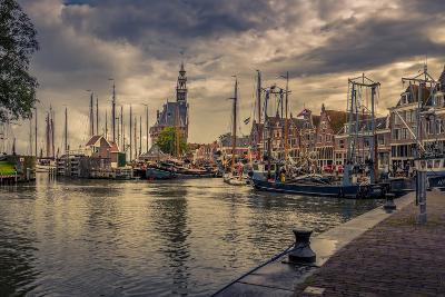 The Netherlands, Hoorn, Harbour, Tower, Hoofdtoren-Ingo Boelter-Photographic Print
