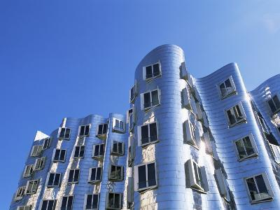 The Neuer Zollhof Building by Frank Gehry, Nord Rhine-Westphalia, Germany-Yadid Levy-Photographic Print