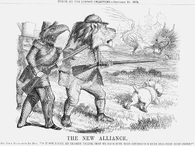 The New Alliance, 1859--Giclee Print