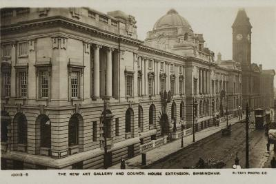 The New Art Gallery and Council House Extension, Birmingham--Photographic Print