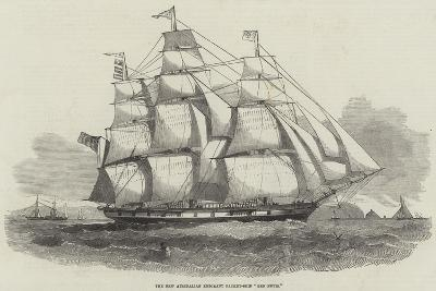 The New Australian Emigrant Packet-Ship Ben Nevis--Giclee Print