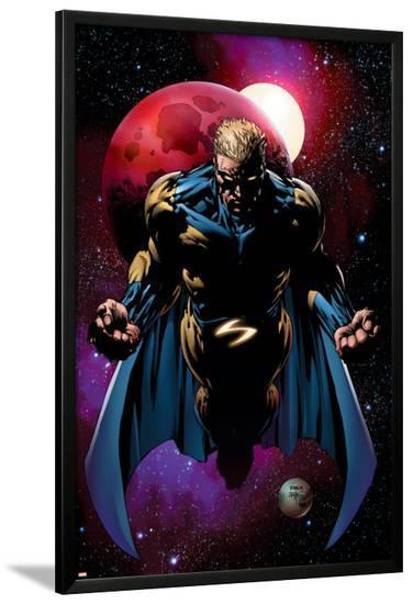 The New Avengers No.3 Cover: Sentry-David Finch-Lamina Framed Poster