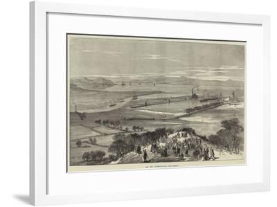 The New Avonmouth Dock, Near Bristol--Framed Giclee Print
