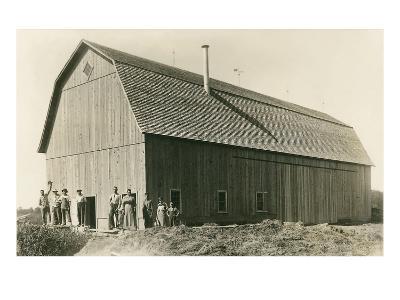 The New Barn--Art Print