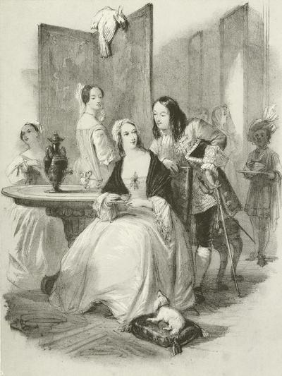 The New Beauty, the Court of Queen Anne-Joseph Nash-Giclee Print