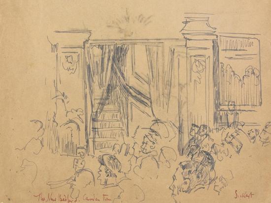 The New Bedford, Camden Town-Walter Richard Sickert-Giclee Print