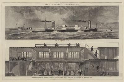 The New Bessember Saloon Steamer--Giclee Print