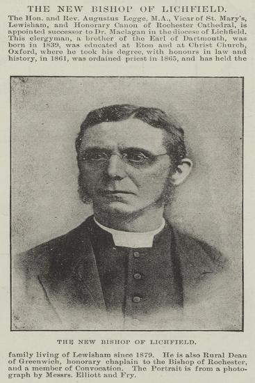 The New Bishop of Lichfield--Giclee Print