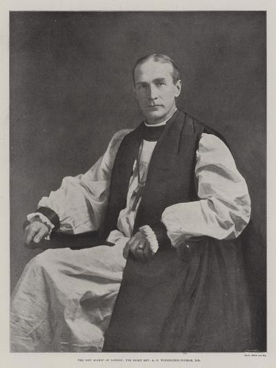 The New Bishop of London, the Right Reverend a F Winnington-Ingram--Giclee Print