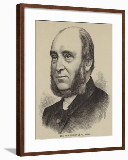 The New Bishop of St Asaph--Framed Giclee Print