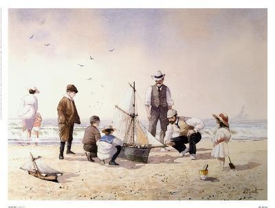 The New Boat-Albert Smith-Art Print