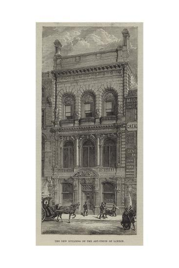The New Building of the Art-Union of London--Giclee Print