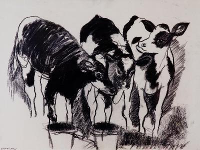 The New Calves-Brenda Brin Booker-Giclee Print