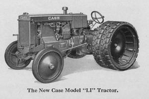 The New Case Industrial Model 'Li' Tractor