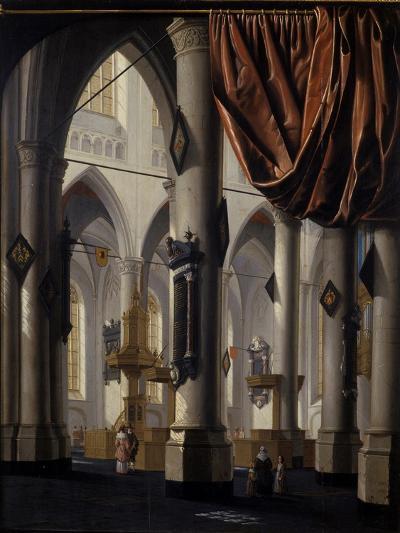 The New Church at Delft, 1654-Daniel de Blieck-Giclee Print