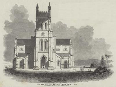 The New Church, Victoria Town, Hong Kong--Giclee Print