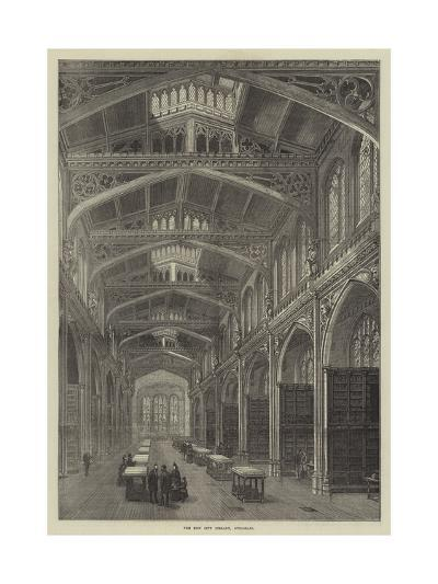 The New City Library, Guildhall--Giclee Print
