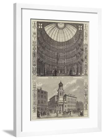 The New Coal Exchange--Framed Giclee Print
