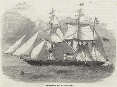 The New Colonial Steam War-Sloop Victoria-Edwin Weedon-Giclee Print