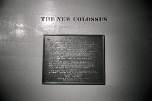 The New Colossus on Base of Statue of Liberty